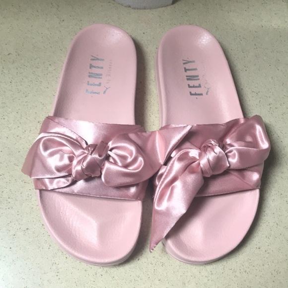 f17afefe1c61 Fenty Beauty Shoes - Fenty Bow Slides